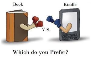 Book vs Kindle
