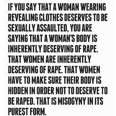 No one deserves to be raped
