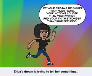 Let your dreams be bigger