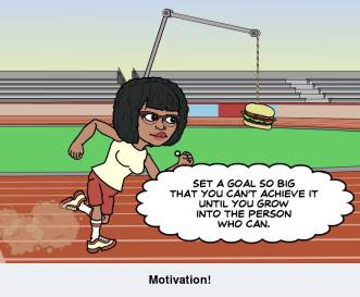 Set a goal so big