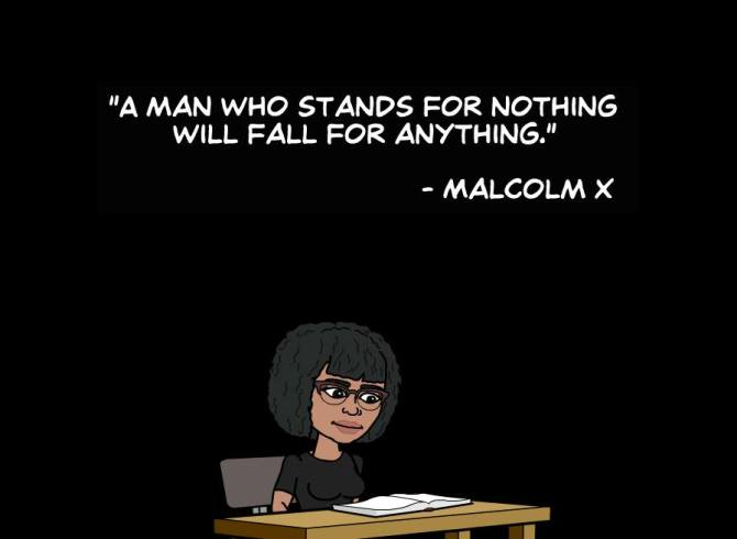 A man who stands for nothing...