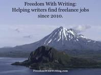 Helping writers find freelance jobs since 2010.