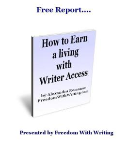 How to Earn a living with Writer Access