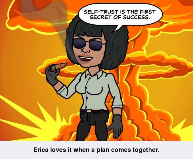 Self-trust is...