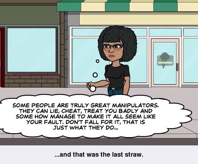 Some people are great manipulators...