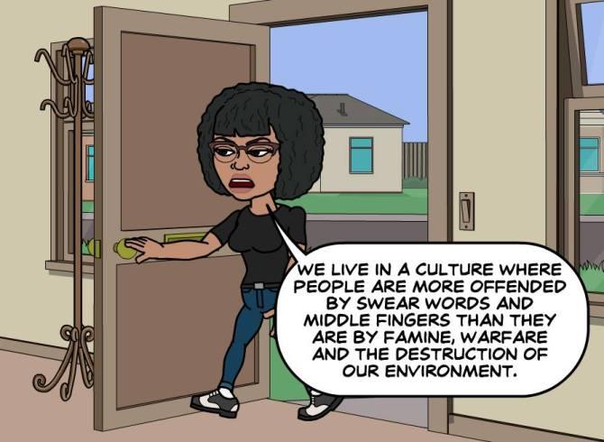 We live in a culture where...