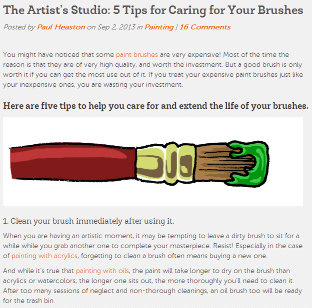 The_Artist's_Studio-_5_Tips_for_Caring_for_Your_Brushes