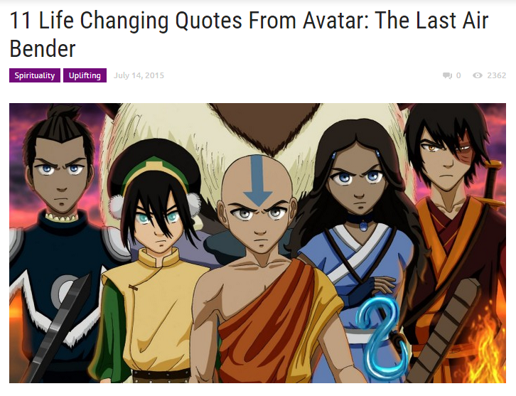 11 Life Changing Quotes From Avatar: The Last Air Bender