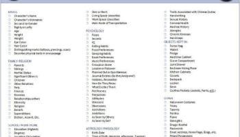 Printables Character Development Worksheet character development worksheet davezan fictional davezan